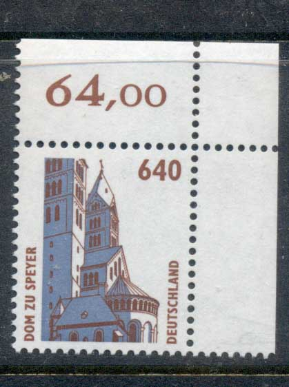 Germany 1994-2001 Historic Sites & Objects 640pf MUH