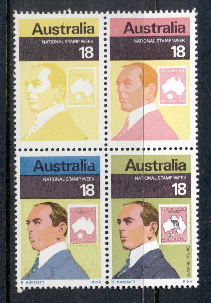 Australia 1976 National Stamp Week MUH