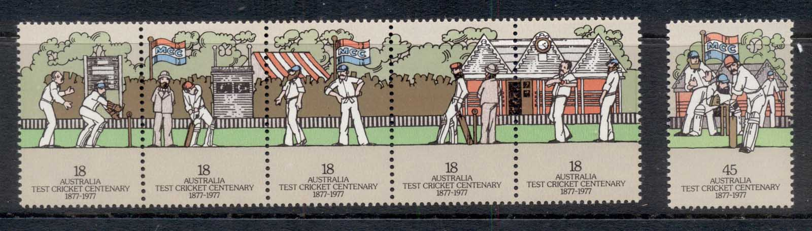Australia 1977 Centenary test Cricket MUH