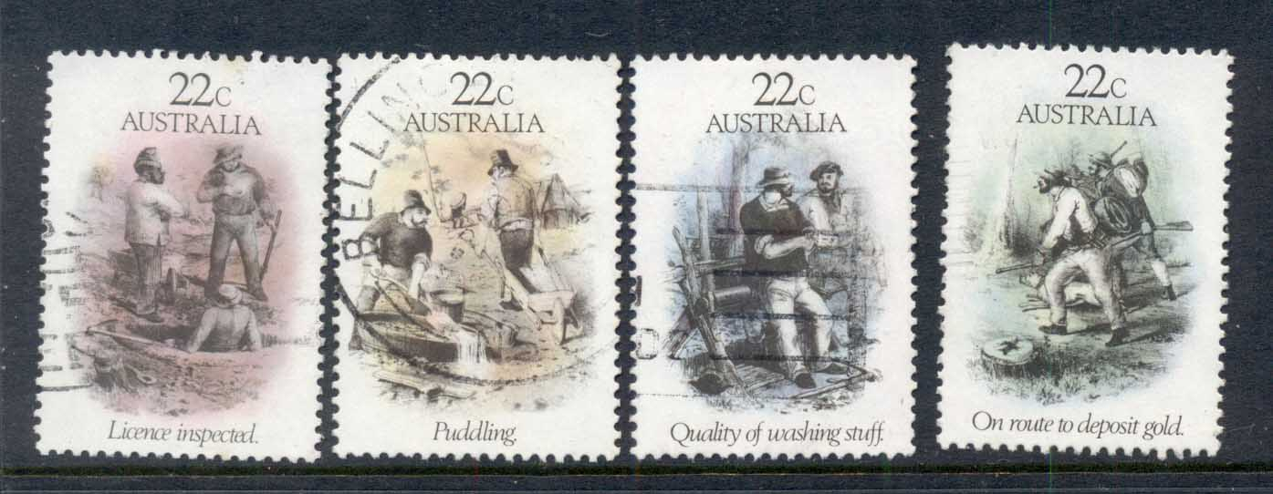 Australia 1981 Gold Rush Era FU