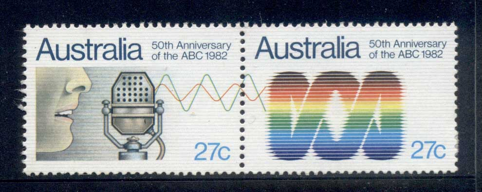 Australia 1982 ABC 50th Anniv. MUH
