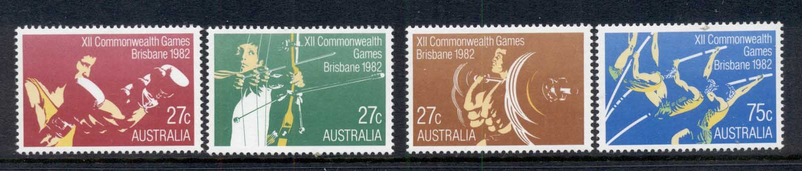 Australia 1982 Commonwealth Games MUH