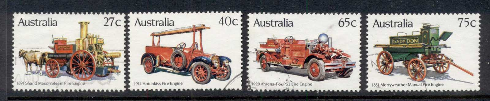 Australia 1983 Historic Fire Engines FU