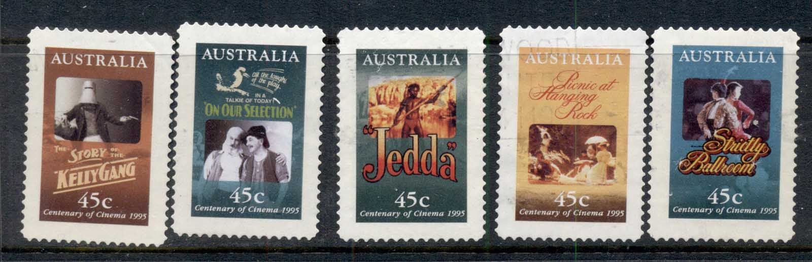 Australia 1995 Centenary of the Cinema P&S FU