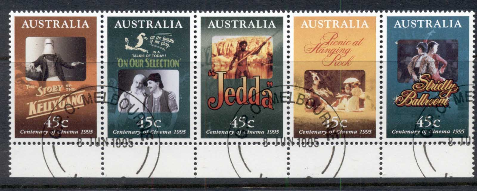 Australia 1995 Centenary of the Cinema CTO