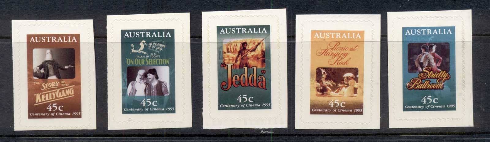 Australia 1995 Centenary of the Cinema P&S ex booklet MUH