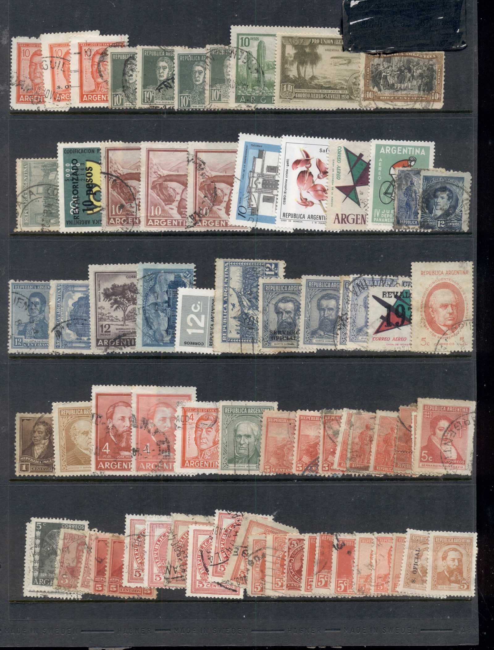 Americas, North South & central Assorted oddments, Argentina 6 scans