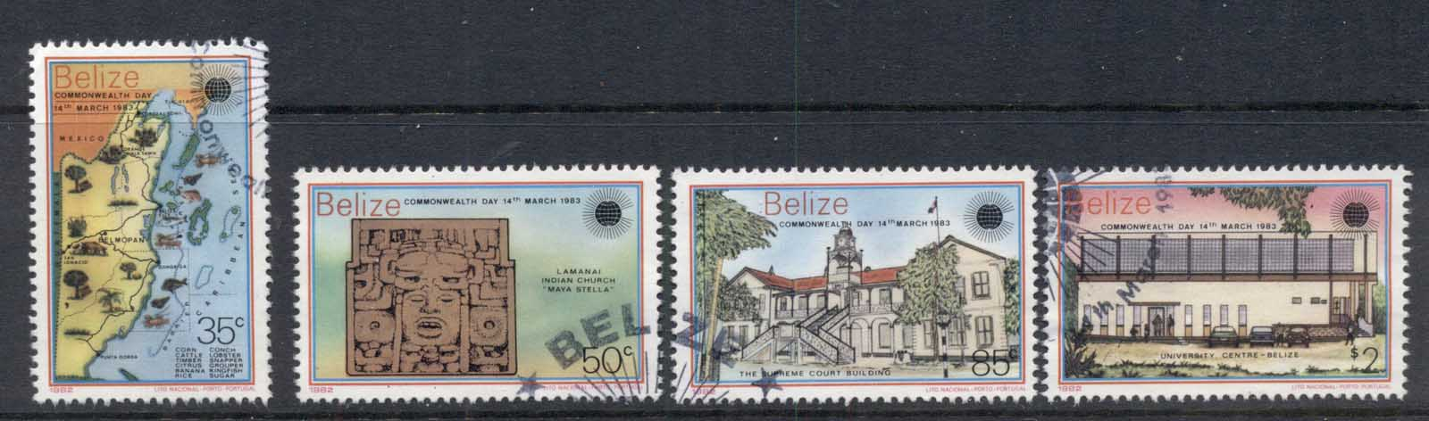 Belize 1983 Commonwealth Day FU