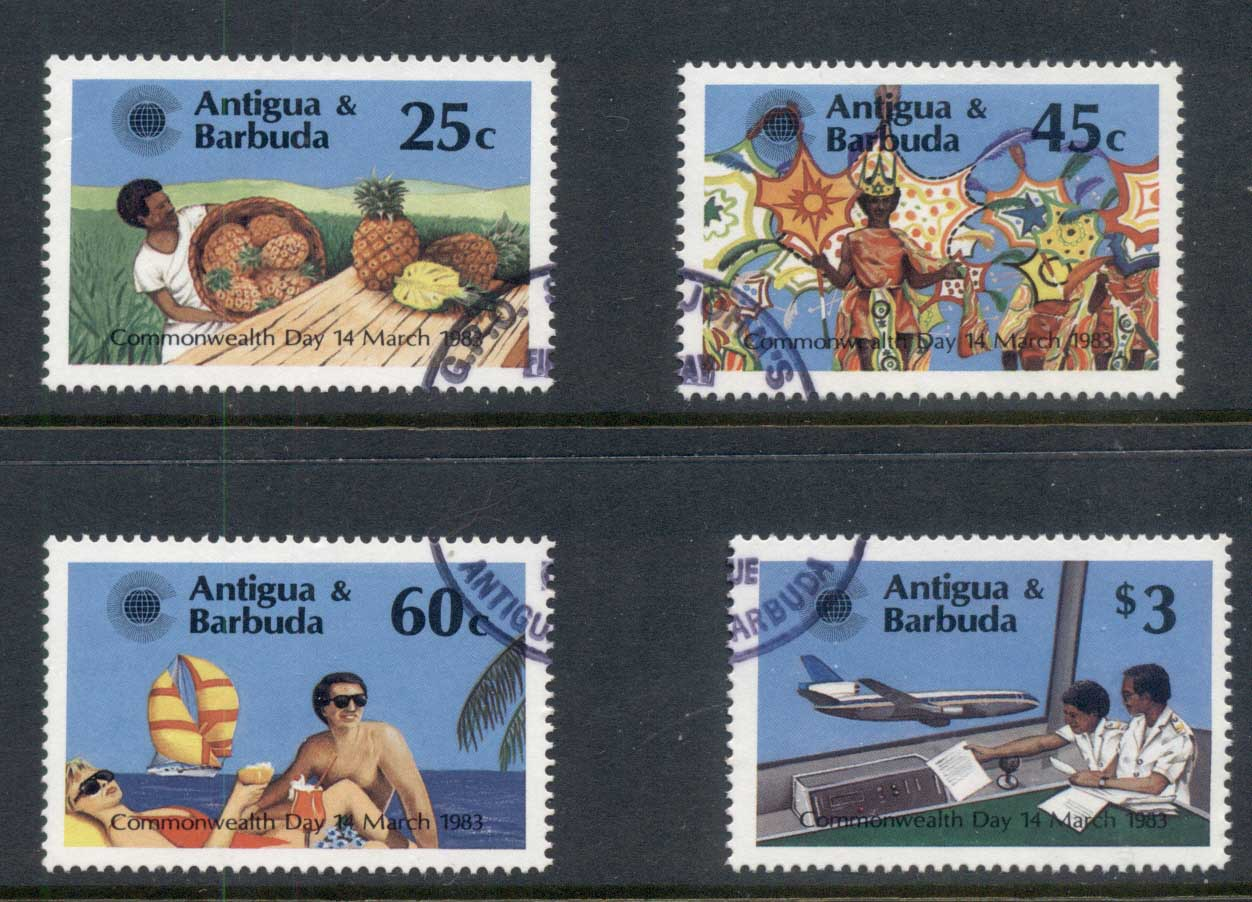 Antigua & Barbuda 1983 Commonwealth Day FU