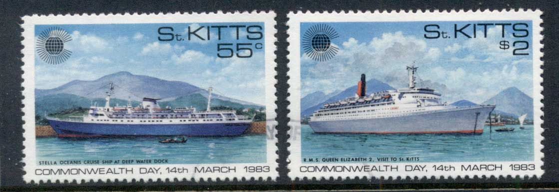St Kitts 1983 Commonwealth Day FU
