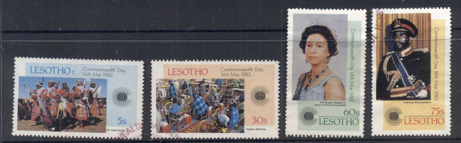 Lesotho 1983 Commonwealth Day FU