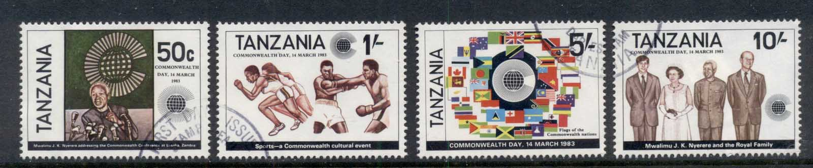 Tanzania 1983 Commonwealth Day FU