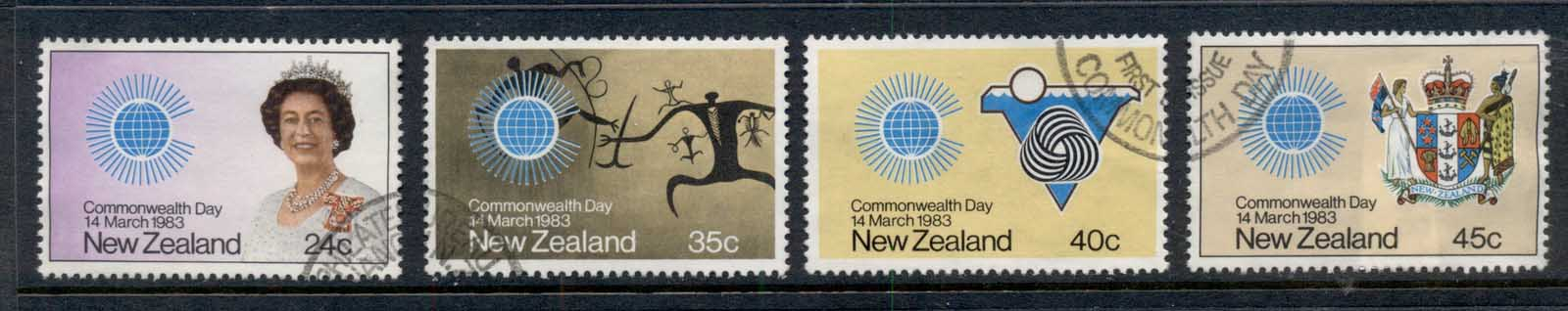 New Zealand 1983 Commonwealth Day FU