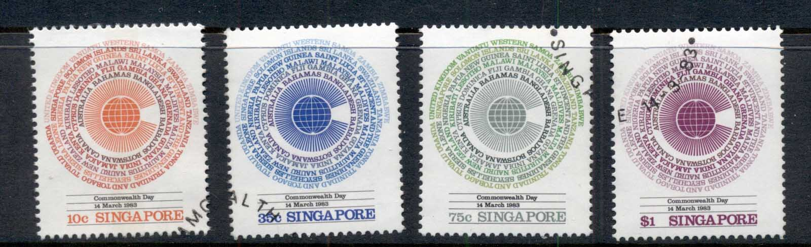 Singapore 1983 Commonwealth Day FU