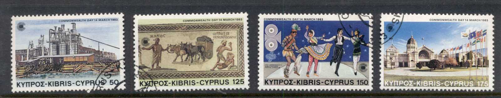 Cyprus 1983 Commonwealth Day FU