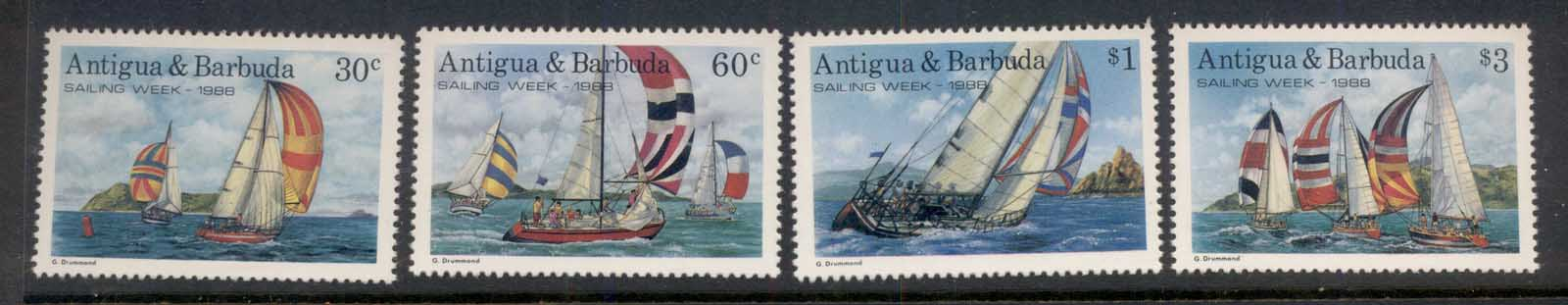 Antigua & Barbuda 1988 Sailing Week MUH