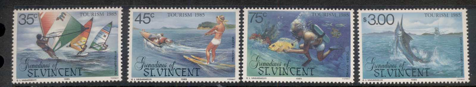 St Vincent Grenadines 1985 Tourism MUH