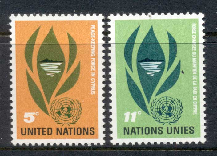 UN New York 1965 UN Peacekeeping Force on Cyprus MUH