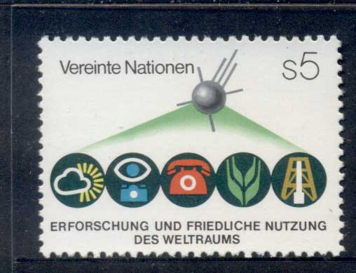UN Vienna 1982 Outer Space MUH