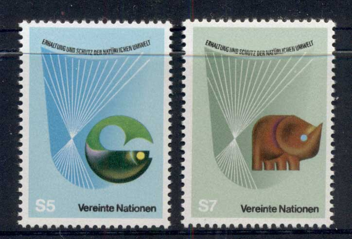 UN Vienna 1982 Conservation & Nature Protection MUH