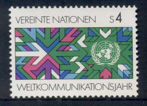 UN Vienna 1983 World Communication Year MUH
