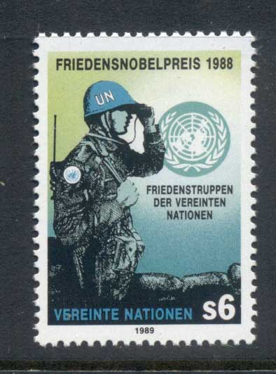 UN Vienna 1989 Peace Keeping Force MUH