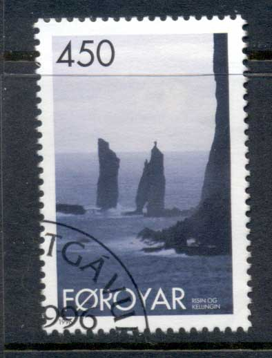 Faroe Is 1996 Rocky Coastline FU