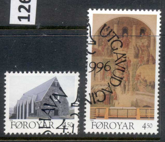 Faroe Is 1996 Christianschurch FU