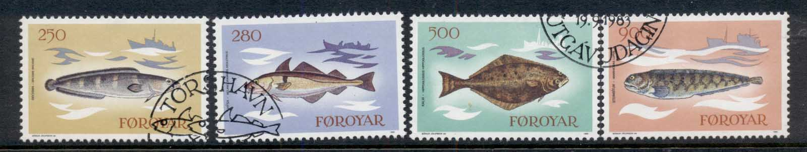 Faroe Is 1983 Fish FU