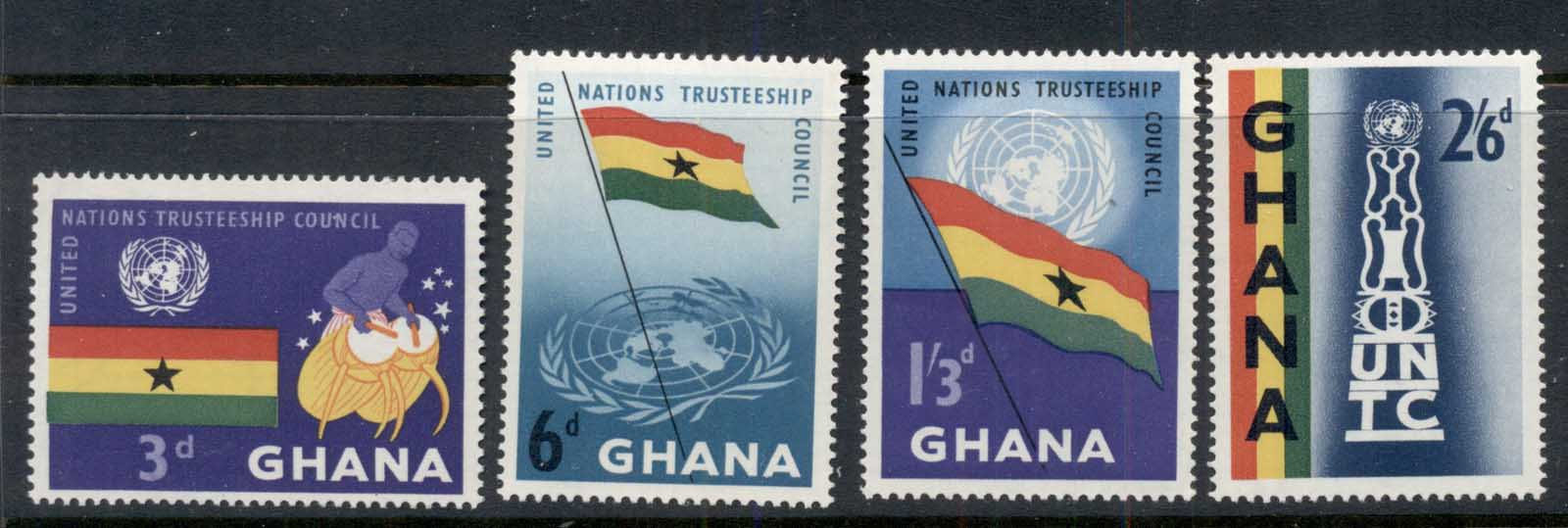 Ghana 1959 UN Trusteeship Council MUH