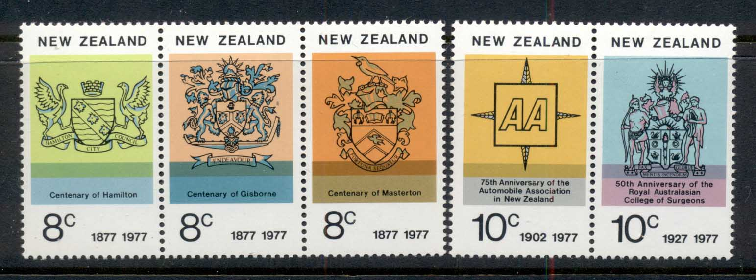 New Zealand 1977 Centenaries MUH