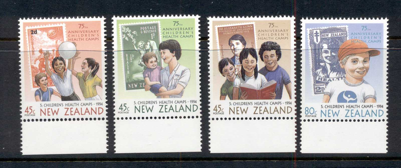 New Zealand 1994 Children's health MUH