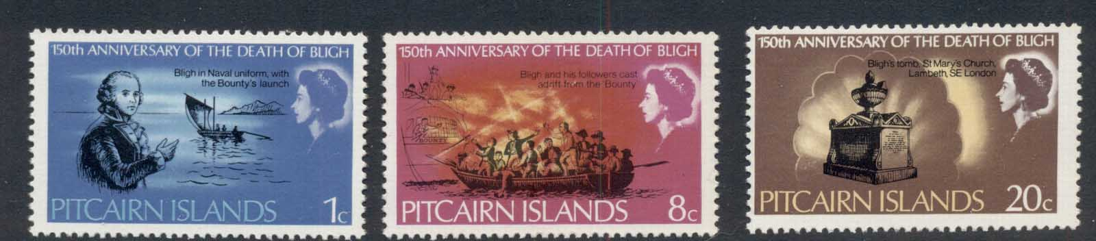 Pitcairn Is 1967 William Bligh MUH