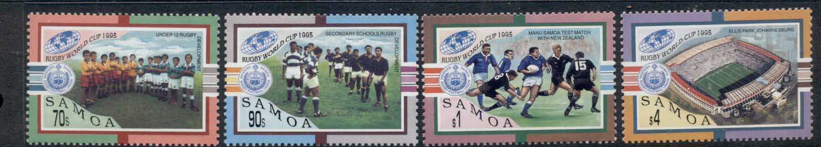 Samoa 1995 World Rugby Cup MUH