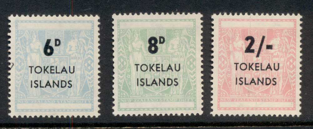 Tokelau is 1966 Arms Surch. MUH
