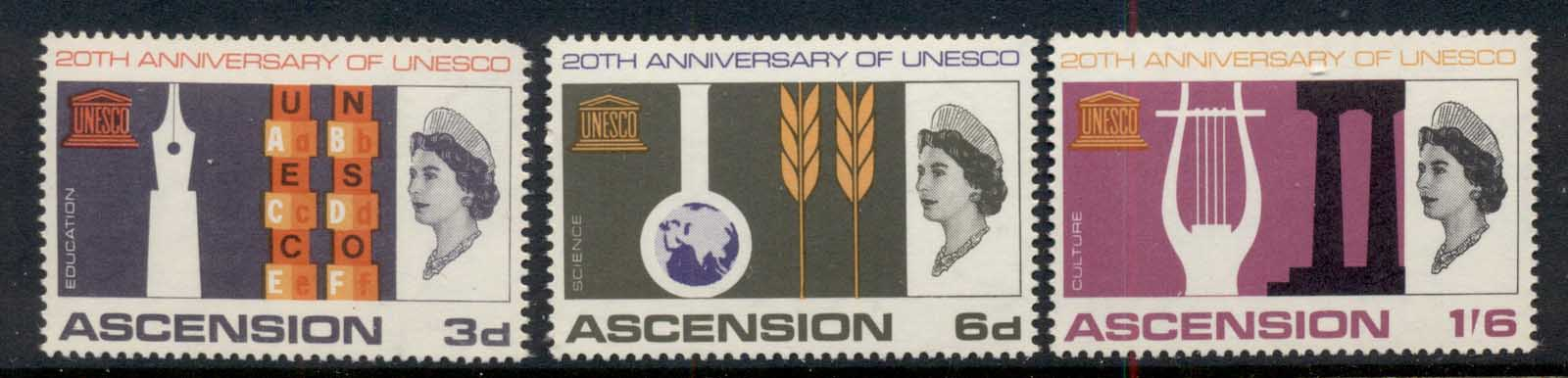 Ascension Is 1967 UNESCO MUH