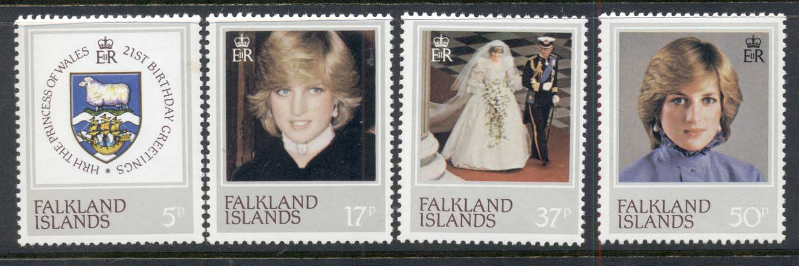 Falkland Is 1982 Princess Diana 21st Birthday MUH