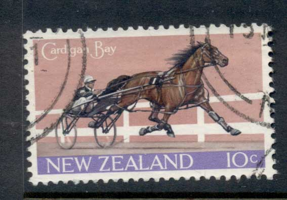 New Zealand 1970 Cardigan Bay, Horse FU