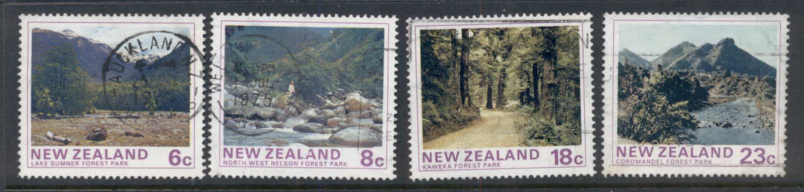 New Zealand 1975 State Forest parks FU