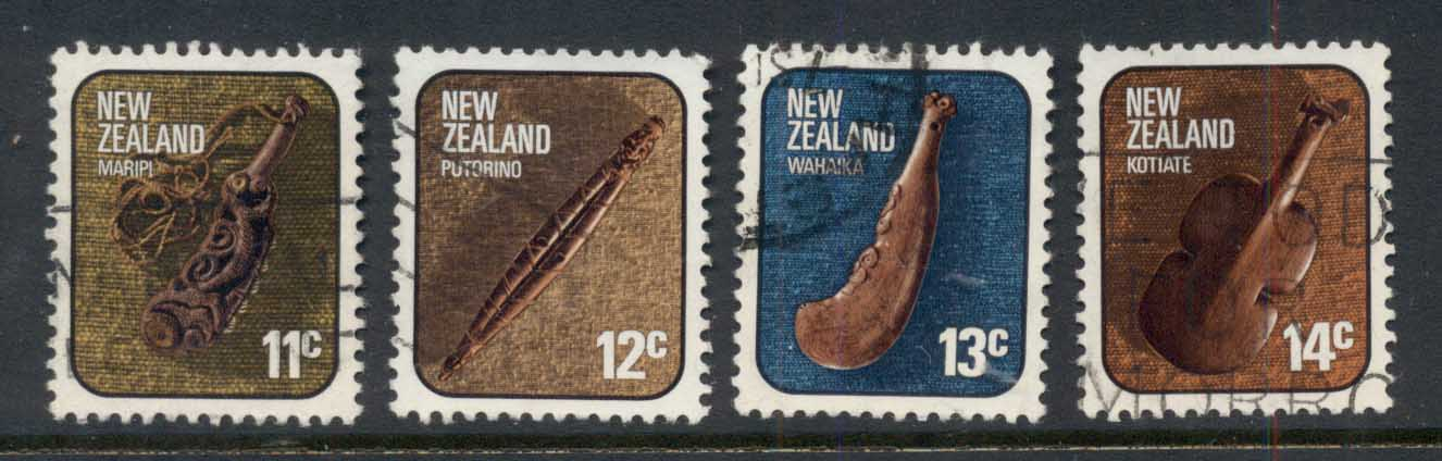 New Zealand 1976 Maori Artifacts FU