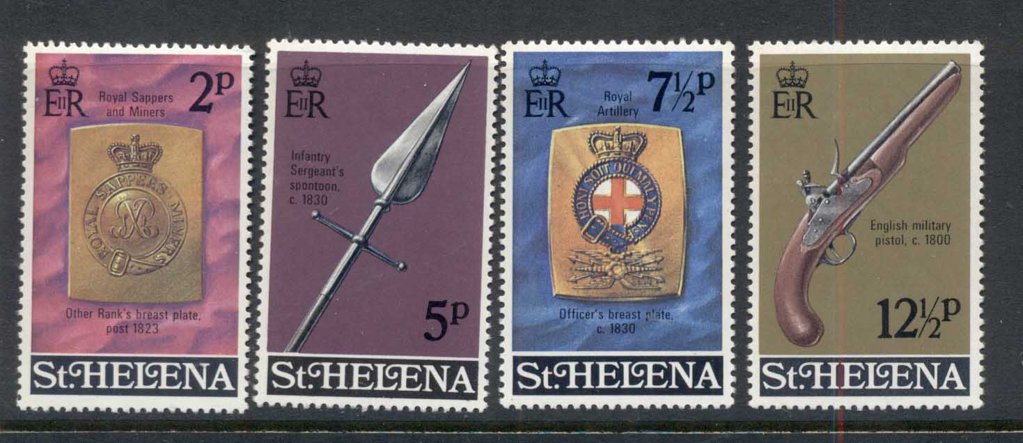 St Helena 1972 Military Emblems MUH