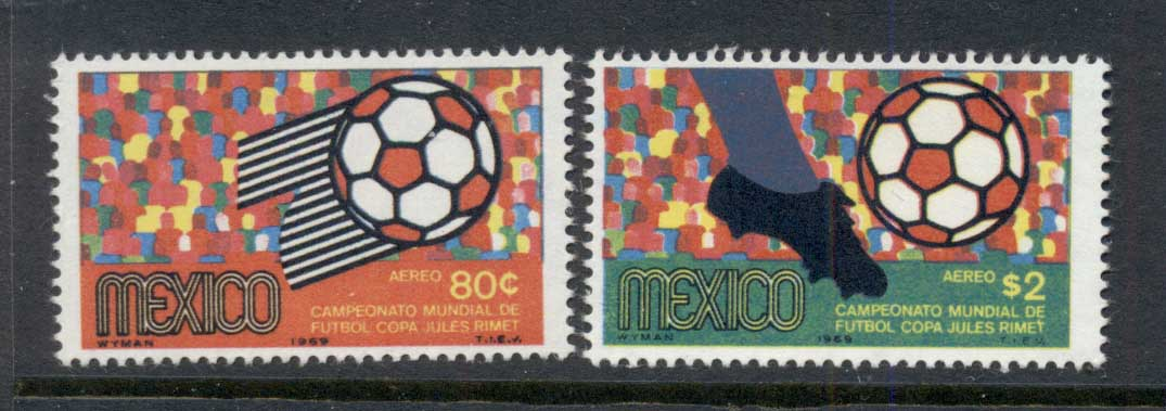 Mexico 1969 World Soccer Championships MUH