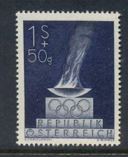 Austria 1948 Olympic Team MUH
