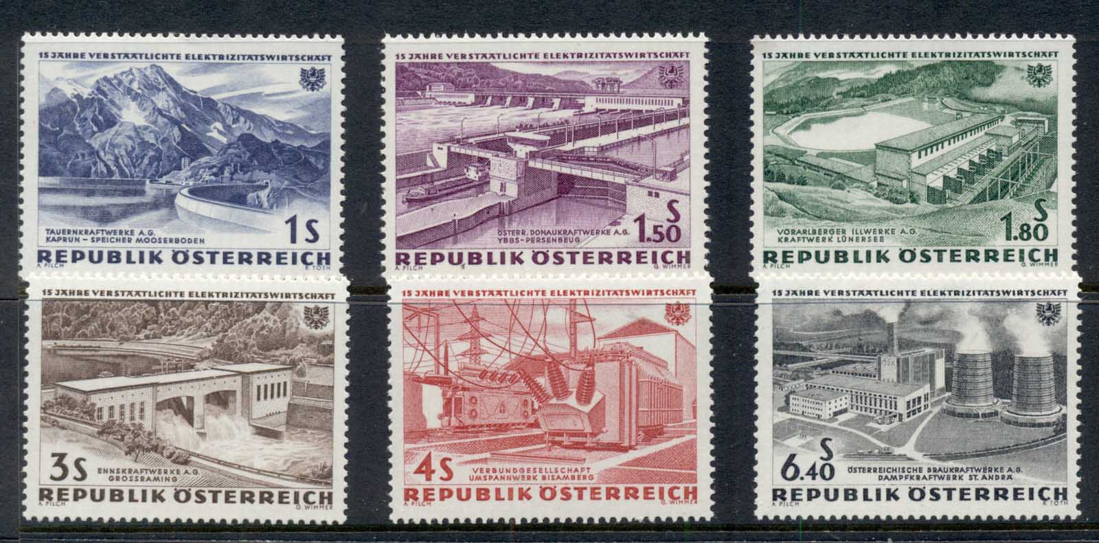 Austria 1962 Hydroelectric Power Nationalisation MUH