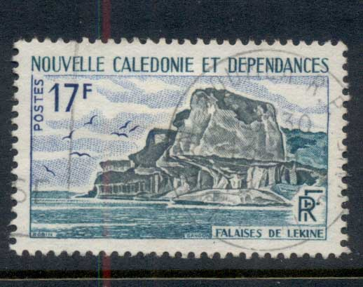New Caledonia 1967 Lekine Cliffs FU