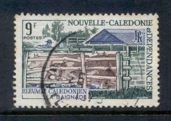 New Caledonia 1969 Cattle Breeding 9f FU