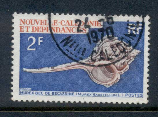 New Caledonia 1969 Sea Shells 2f FU