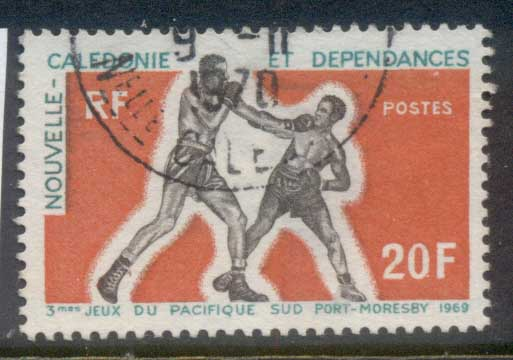 New Caledonia 1969 South Pacific Games, Boxers FU