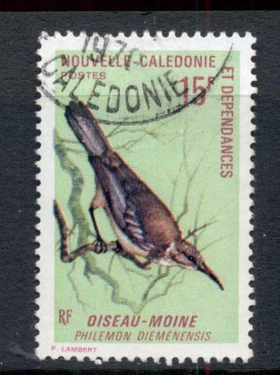 New Caledonia 1970 Birds 15f FU