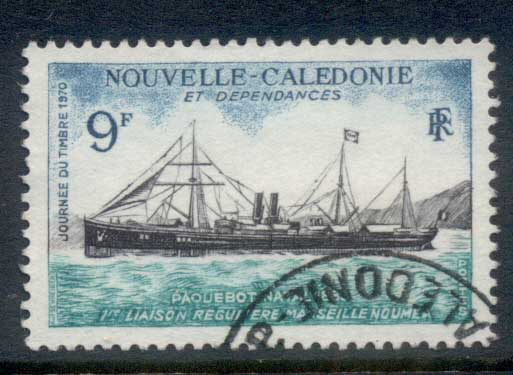 New Caledonia 1970 Stamp day FU